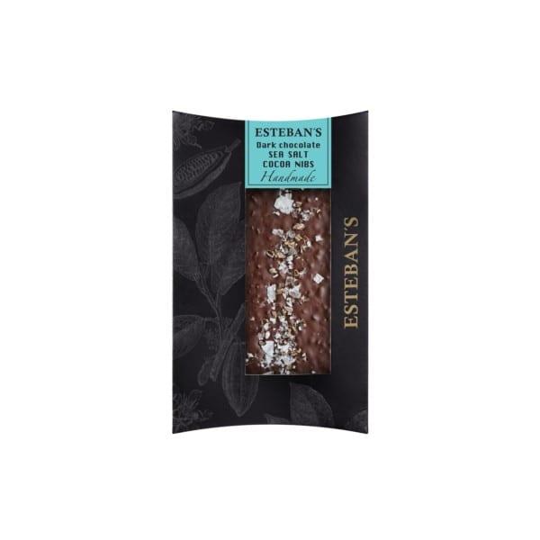mork med kakaonibs och havssalt