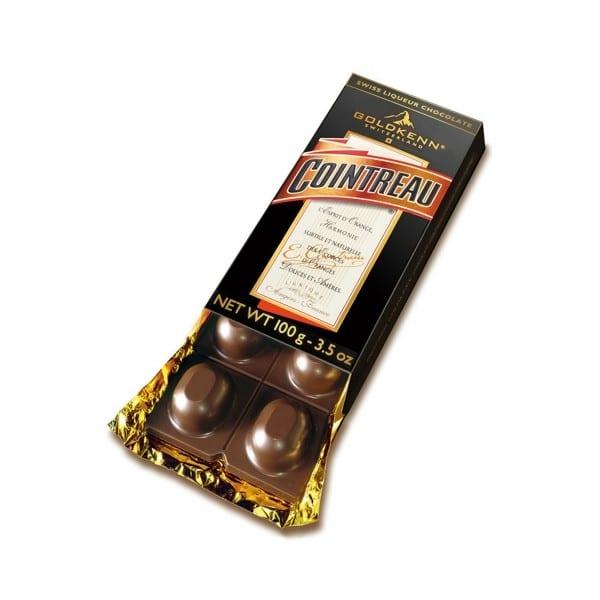 cointreau fylld choklad