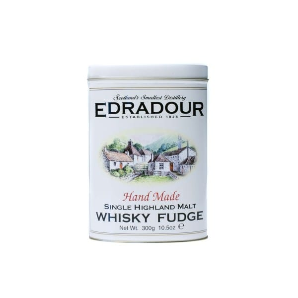 edradour single highland malt whisky fudge