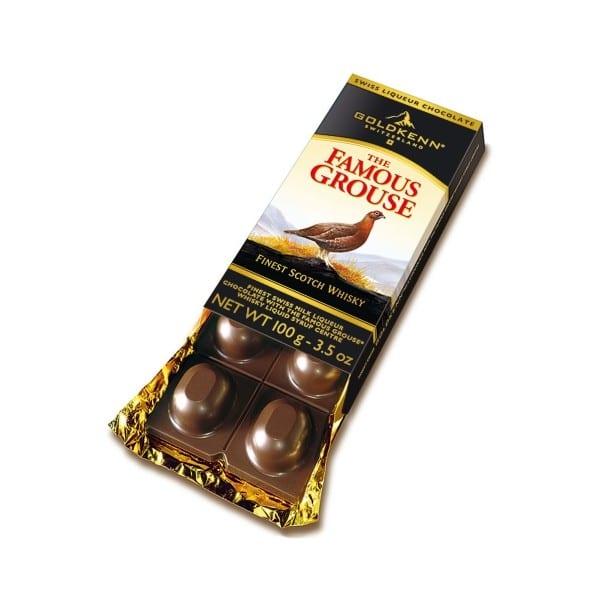 famous grouse fylld choklad
