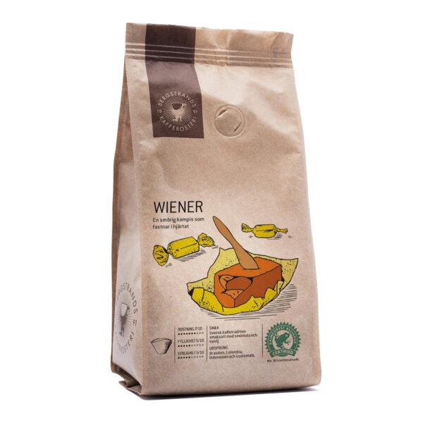 Bergstrands, kaffe Wiener, 250g