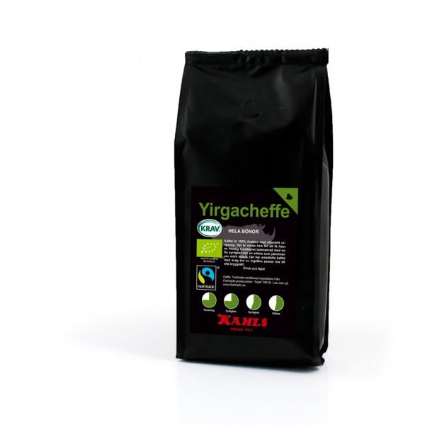 Yirgacheffe Krav/Fairtrade/Eko
