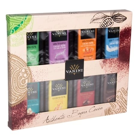 Giftbox minibars assorted, 120g, Vanini
