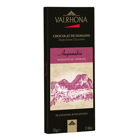 Ampamakia 2016 64%, 70g, Valrhona