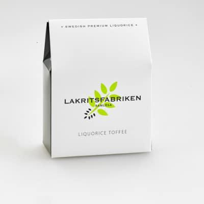 Lakritsfabriken Liquorice Toffee 100g