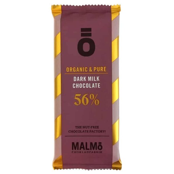 Ö Ekologisk Choklad Dark Milk Chocolate 56% - 55 g