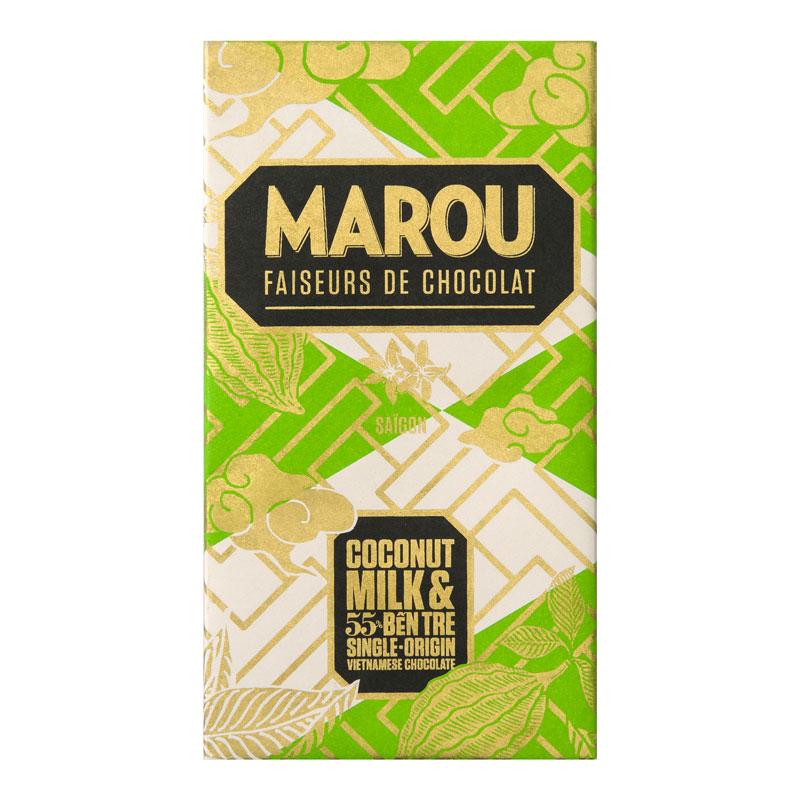 COCONUT MILK 55%, 80G, MAROU