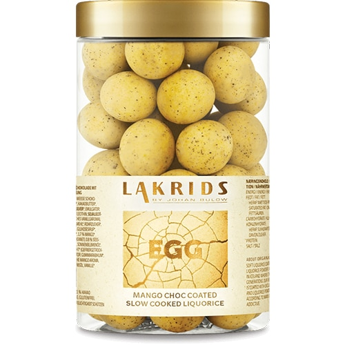 BIG EASTER ORGANIC EGG - Lakrids by Johan Bülow