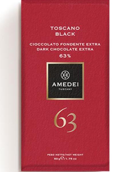 Toscano Black 63%, 50g, Amedei