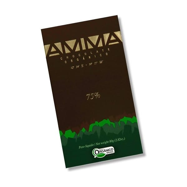 AMMA 75% Dark Chocolate Ekologisk
