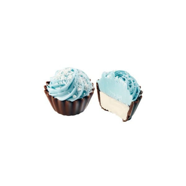 Cupcake med kokosnöts ganache