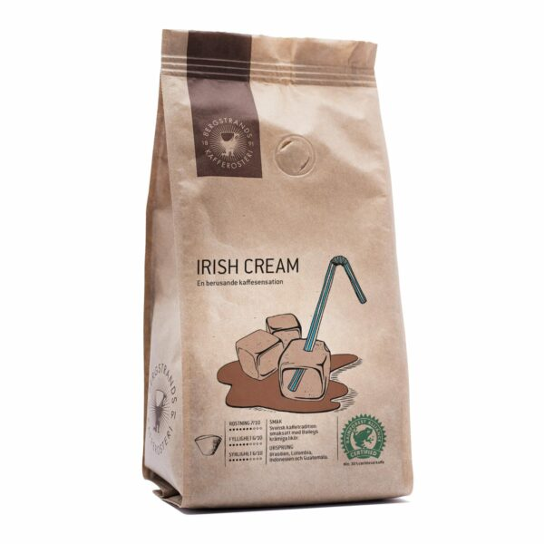 Bergstrands, kaffe Irish Cream, 250g