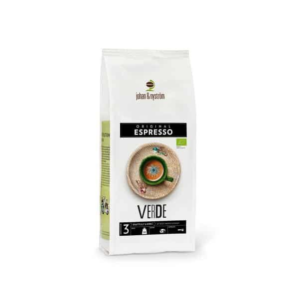 Johan & Nyström Verde Eko Kaffe 500g