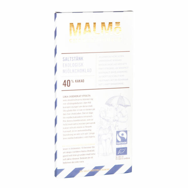 Saltstänk 40%, 80g, Malmö Chokladfabrik