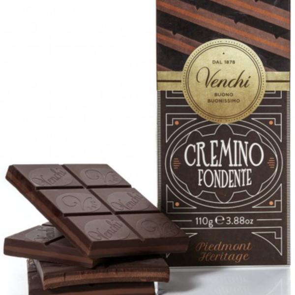 Venchi chokladkaka - Cremino dark, 110g.