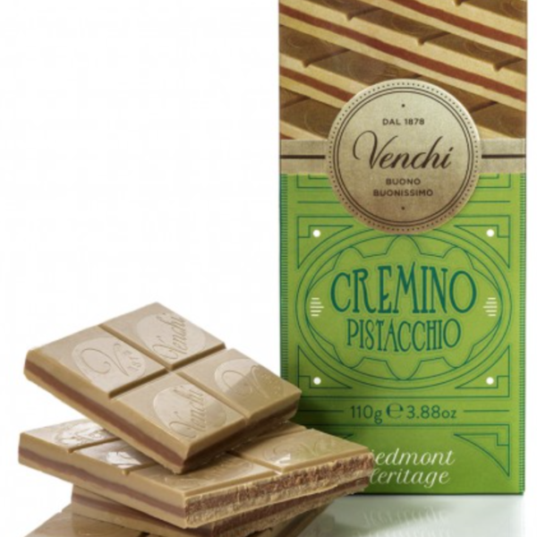 Venchi chokladkaka - Cremino pistage, 110g.