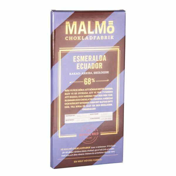 Esmeralda Ecuador 68%, 80g, Malmö Chokladfabrik