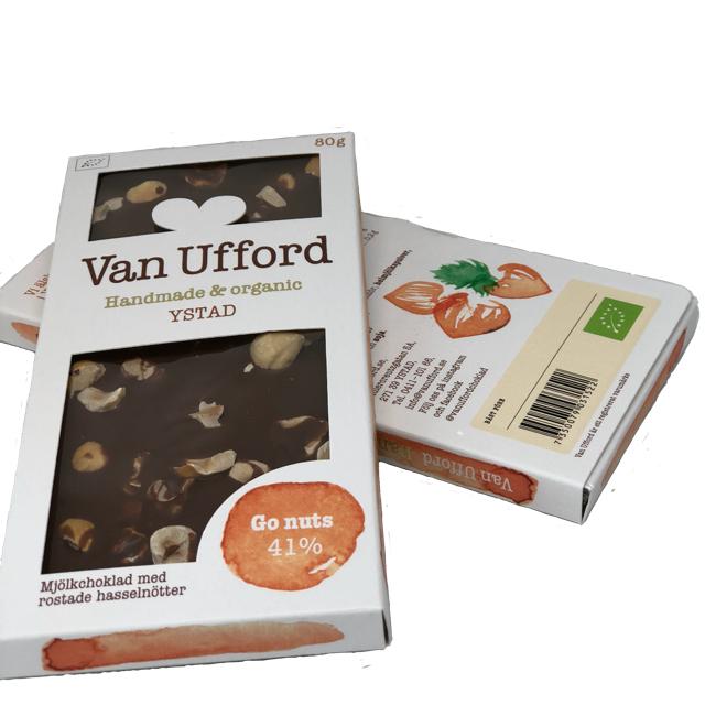 Van Ufford - Go nuts, Ekologisk