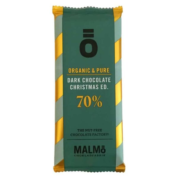 Ö Ekologisk Choklad Dark Chocolate Christmas Edition 70% - 55 g
