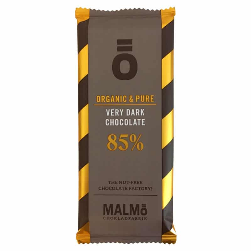 Ö Ekologisk Choklad Very Dark Chocolate 85% - 55 g