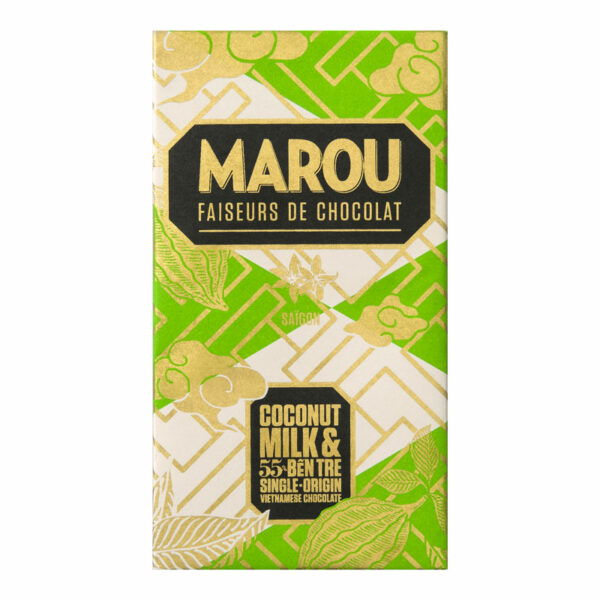 COCONUT MILK 55%, 80G, MAROU
