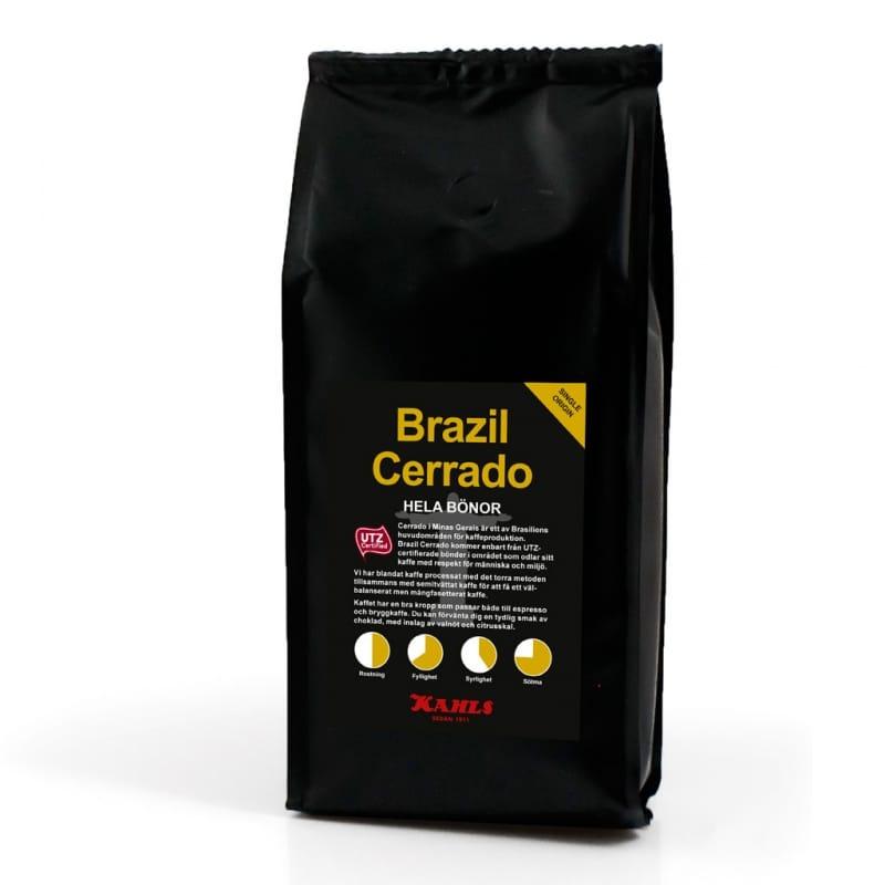 Brazil Cerrado 250 g Hela bönor - Kahls