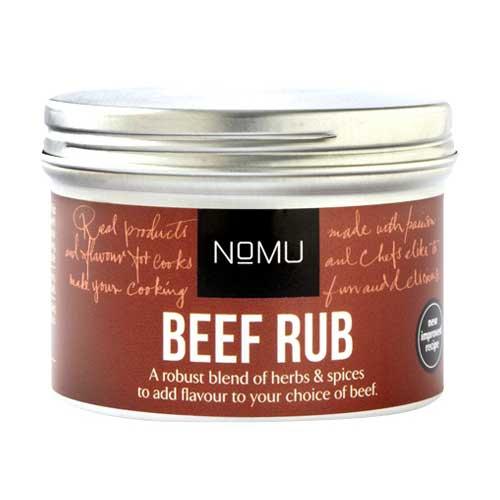Nomu, Beef Rub