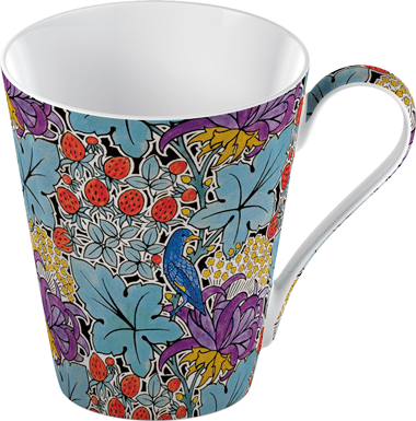 V & A - Bird & Strawberry mugg i box