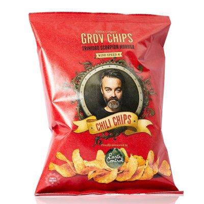 Chili Klaus Chili Chips vindstyrke 4 (150g)