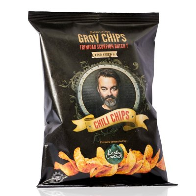 Chili Klaus Chili Chips vindstyrke 8 (150g)