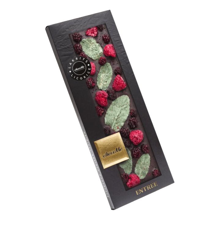 Choco Me 66% Mörk Choklad Från Valrhona, Lakritsgranulat