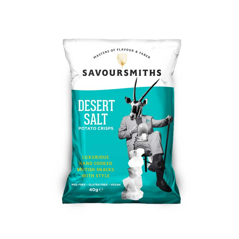 Savoursmiths - Desert Salt chips