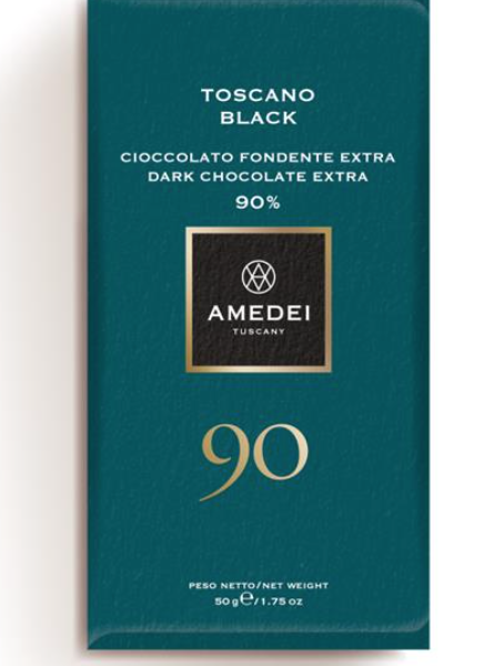Toscano Black 90%, 50g, Amedei