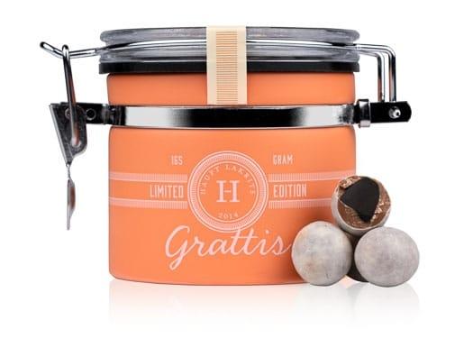 GRATTIS - Söt lakrits med mörk dulce-choklad, citrongräs, kanel och thai-chili.