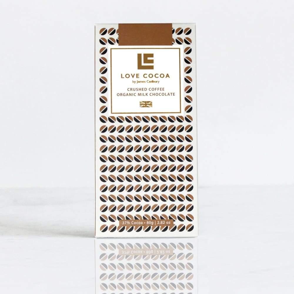 LOVE COCOA - Crushed Coffee 37% Milk Chocolate