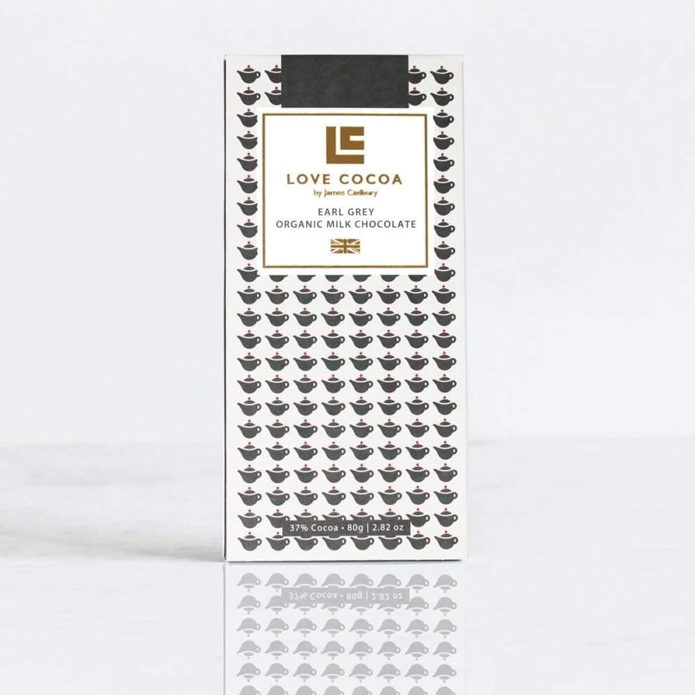 LOVE COCOA - Earl Grey Milk Chocolate