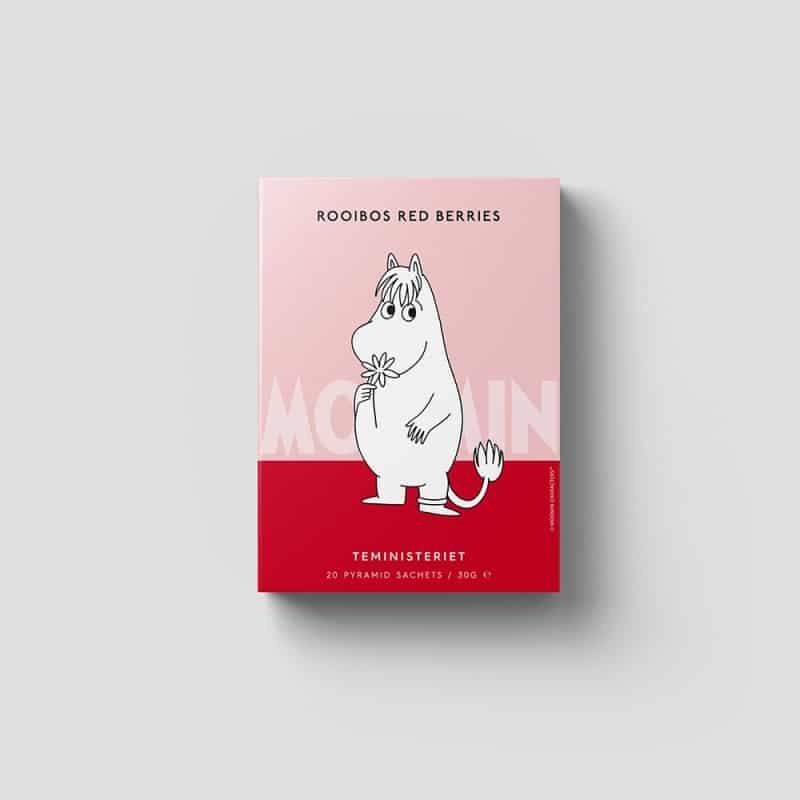 Moomin Rooibos Red Berries Pyramid