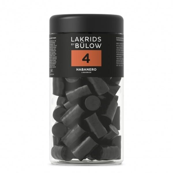 Lakrids No 4 - Habanero Chili Regular